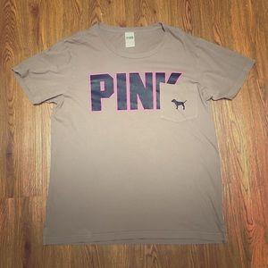 'PINK' oversized short sleeve t-shirt